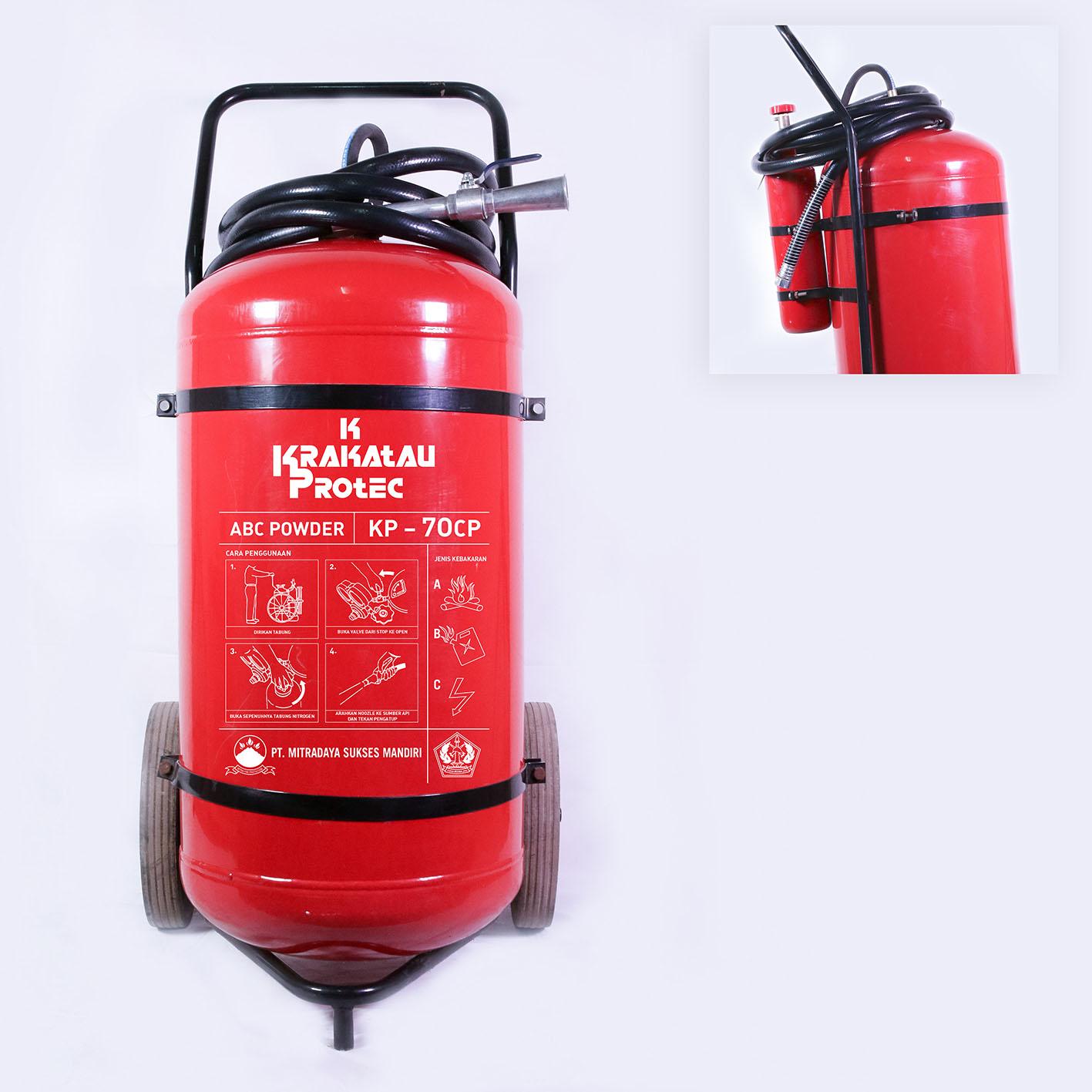 Cartridge Powder 70 Kg / KP70CP