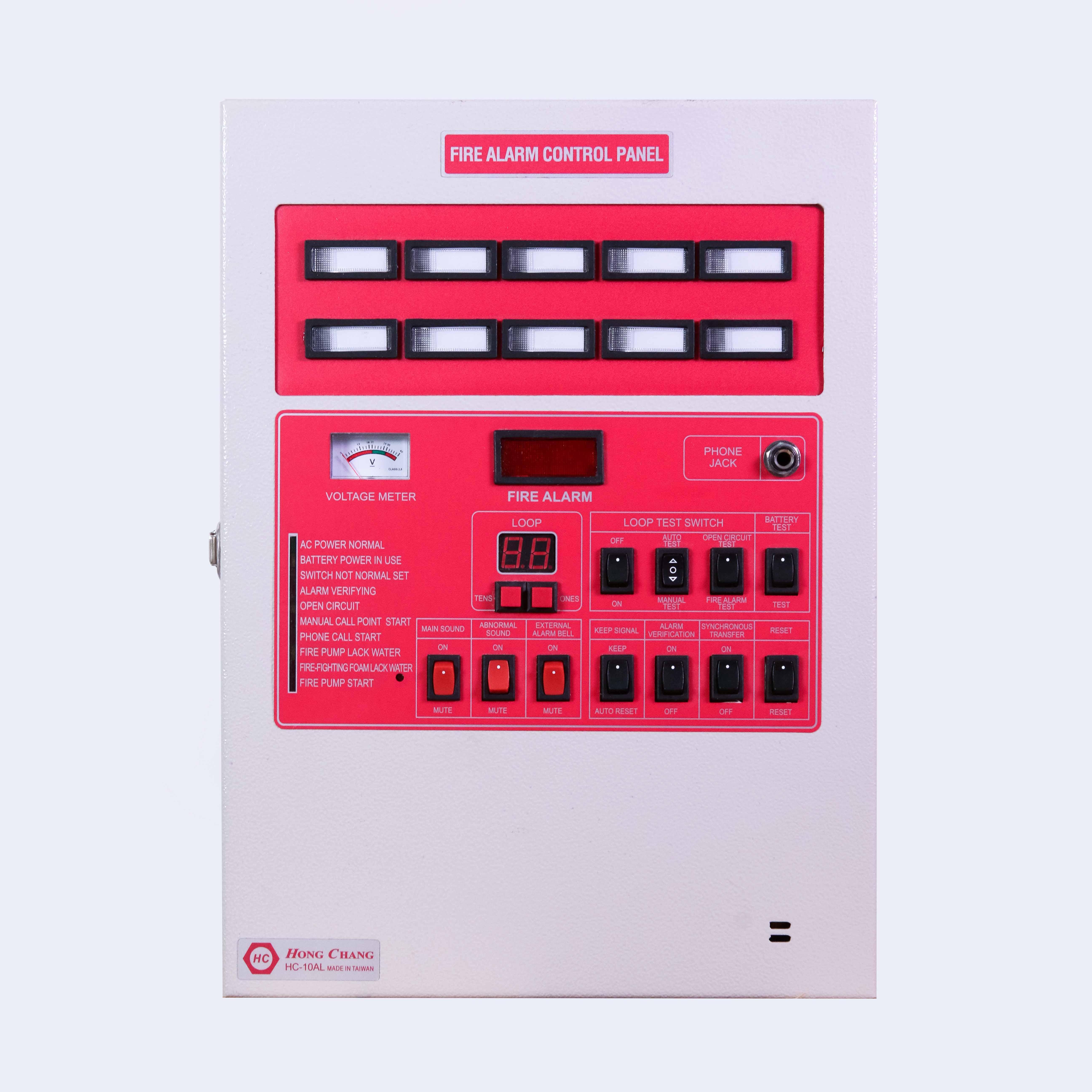 Control Panel HC 10 AL/ 10 zone besi